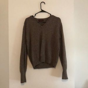 John Ashford lambswool sweater